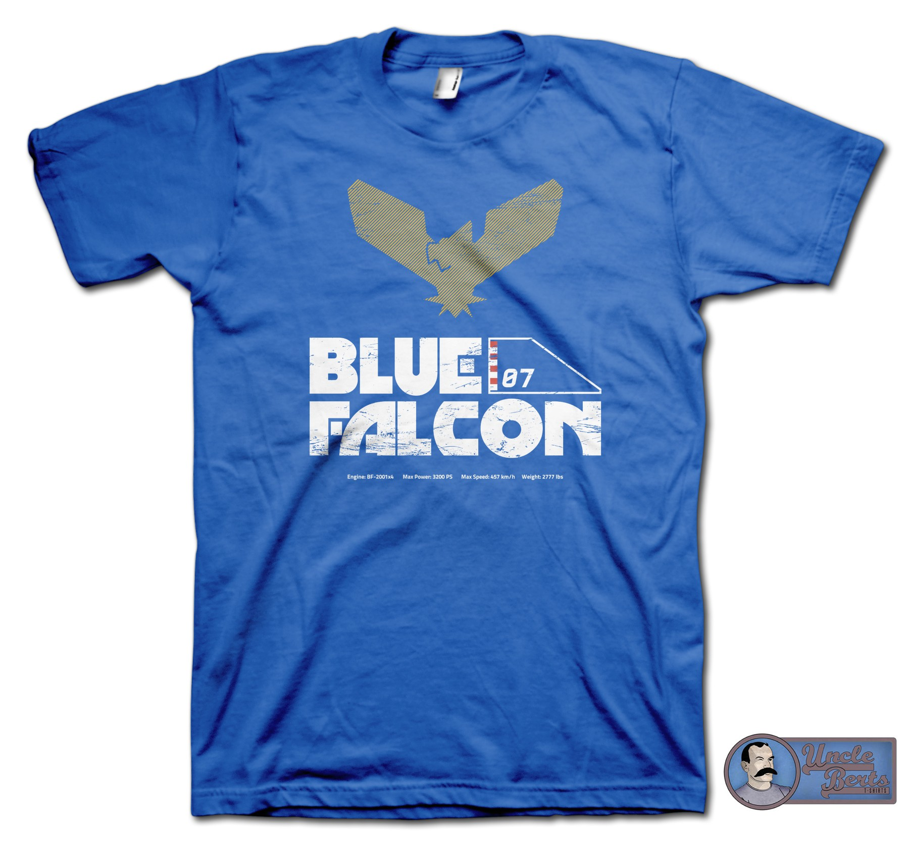 Blue Falcons inspired by the F-Zero series T-Shirt