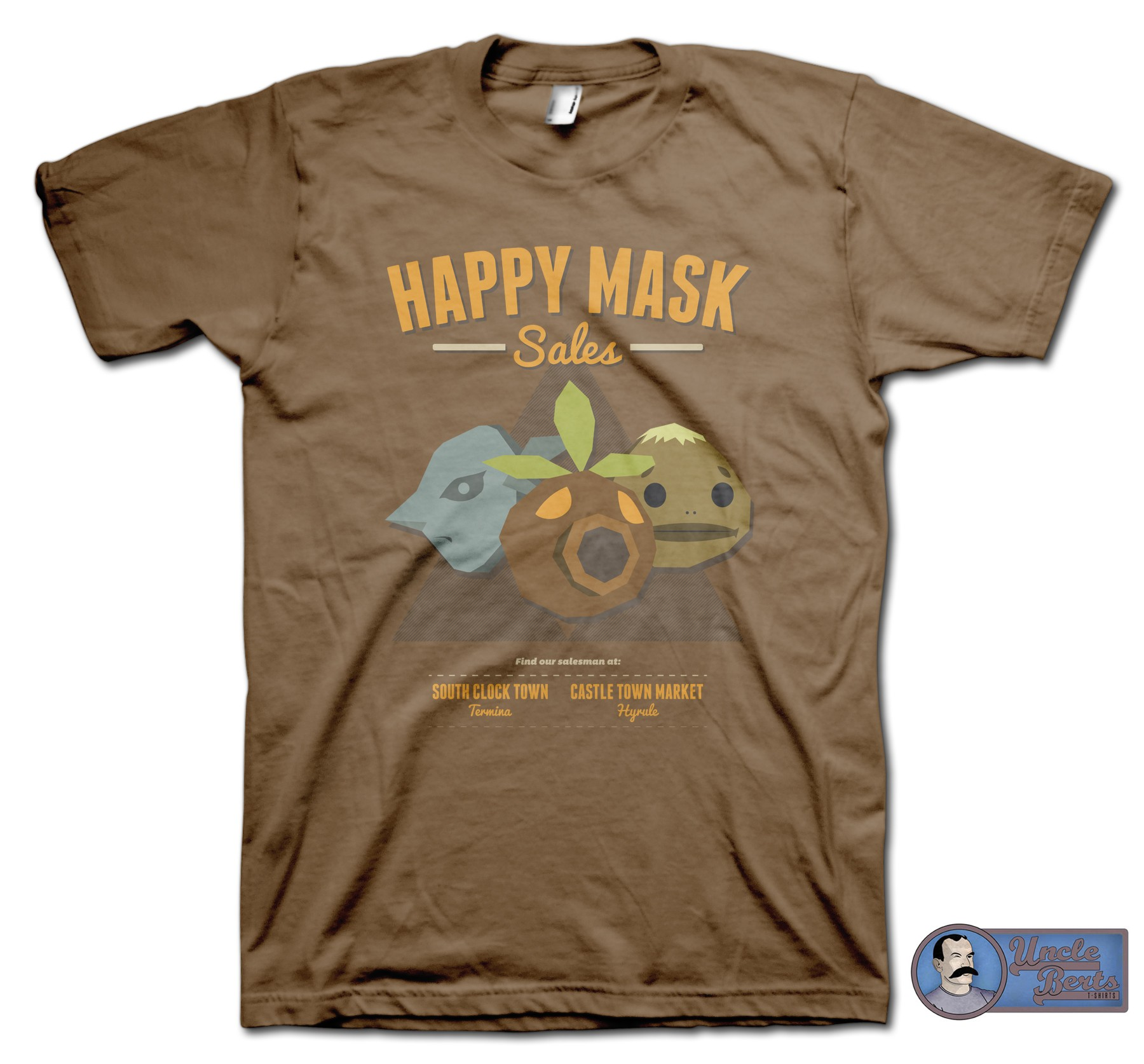 Happy Mask Sales T-Shirt - inspired by the Legend of Zelda series