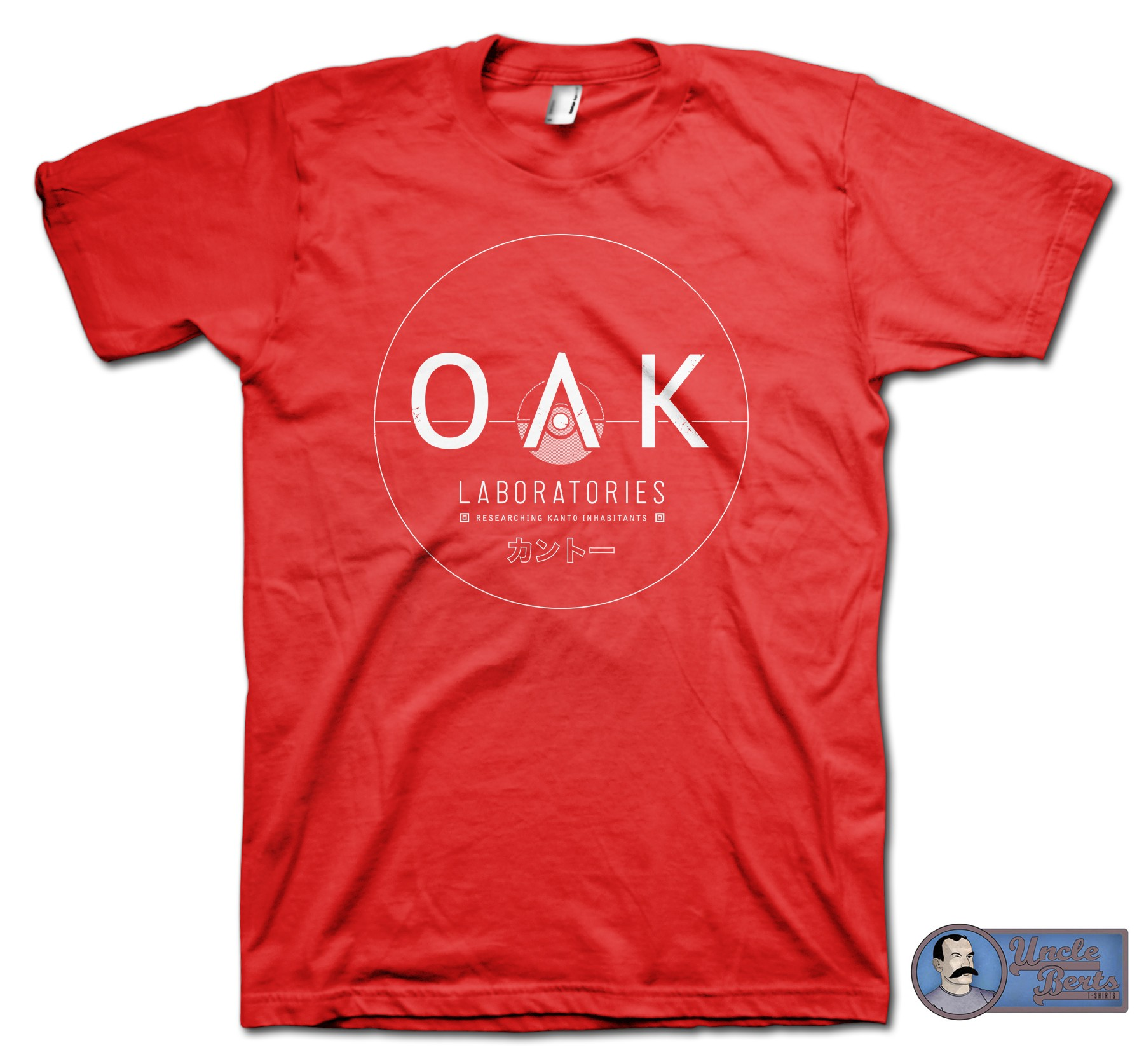 Oak Laboratories T-Shirt - inspired by the Pokemon series