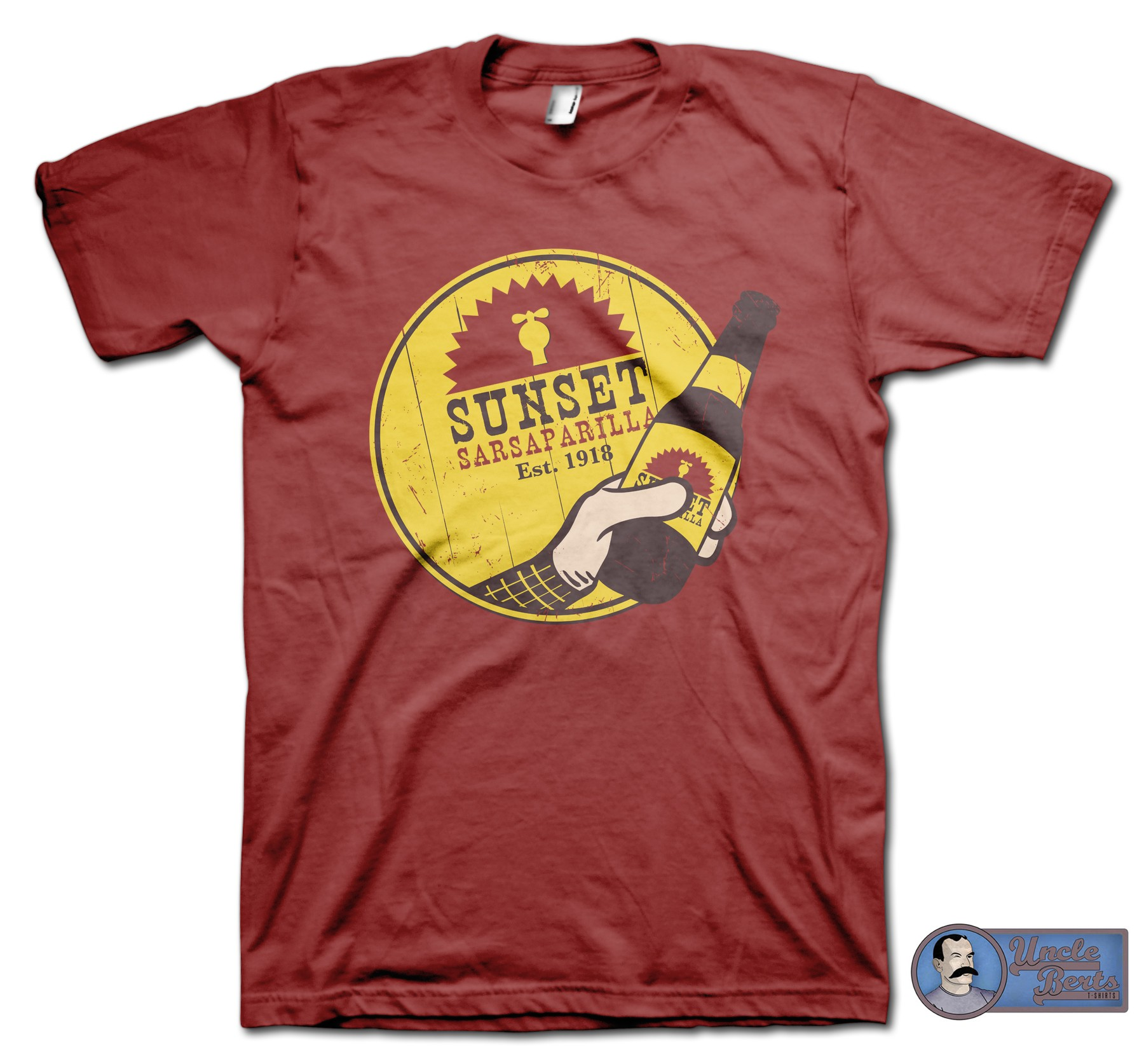 Sunset Sarsparilla T-Shirt - inspired by the Fallout series