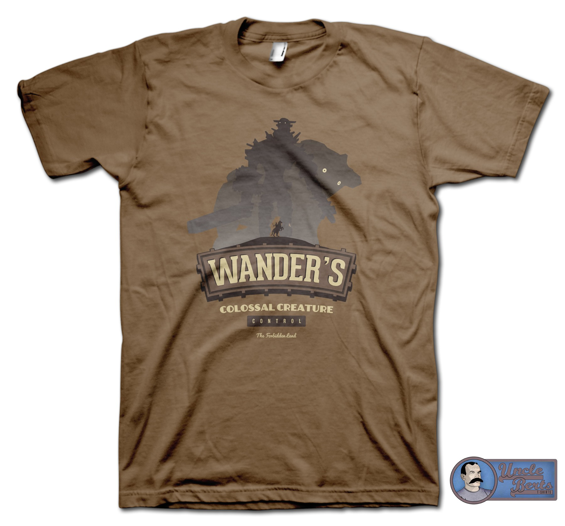Wander's Colossal Creature Control T-Shirt - inspired by Shadow of the Collosus