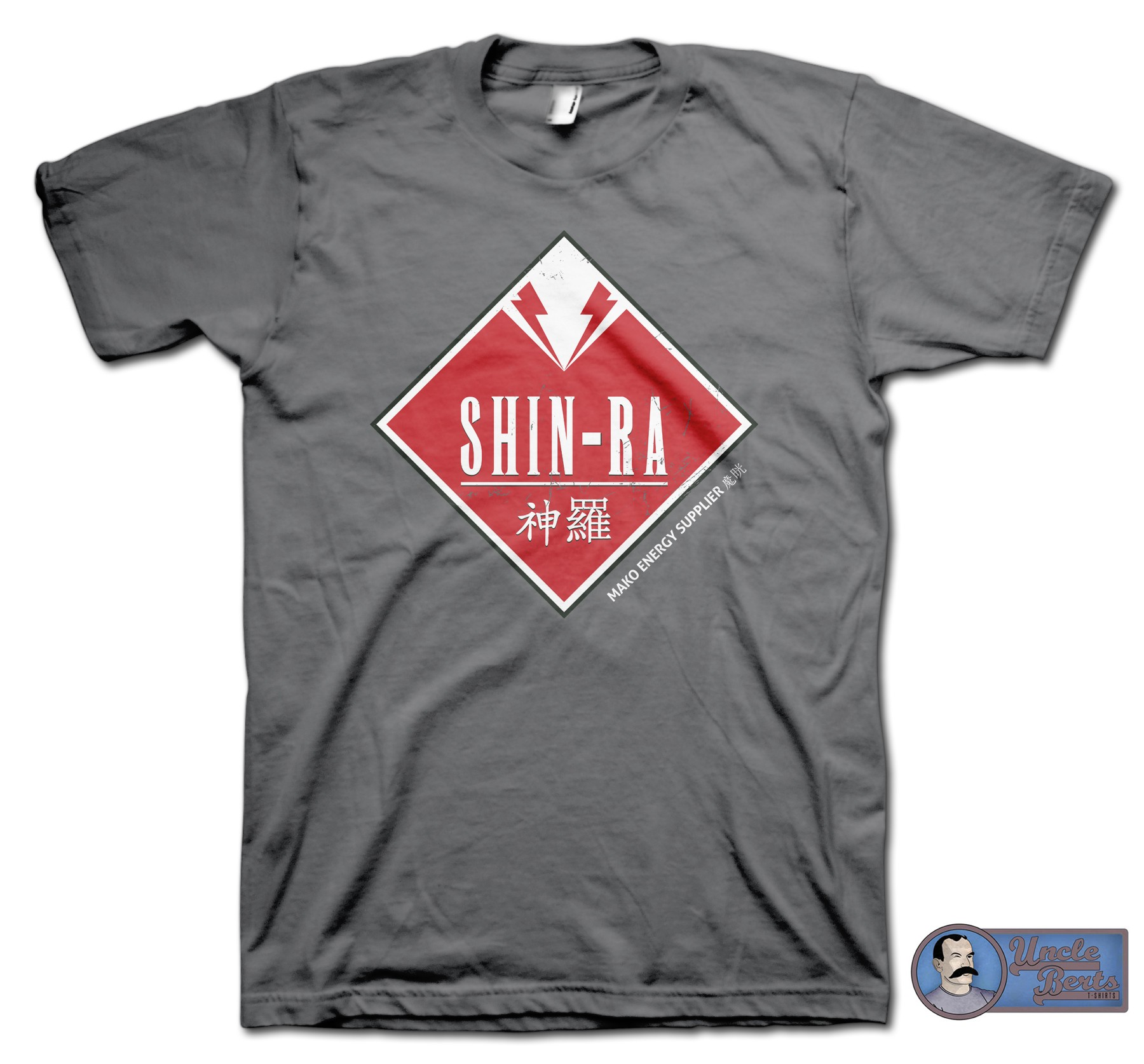 Shin-Ra T-Shirt - inspired by Final Fantasy VII