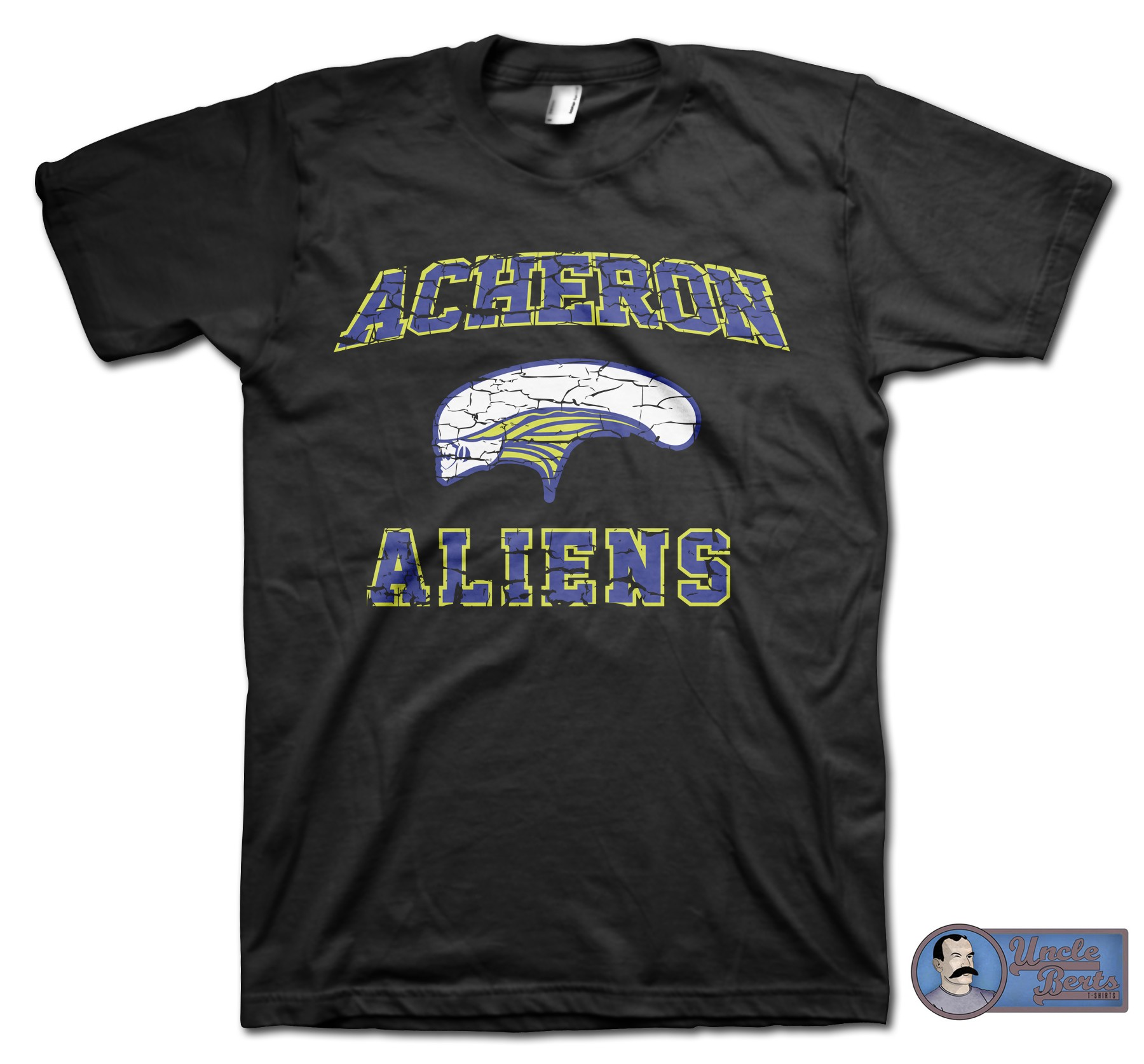 Alien (1979) Inspired Acheron Aliens Team T-Shirt