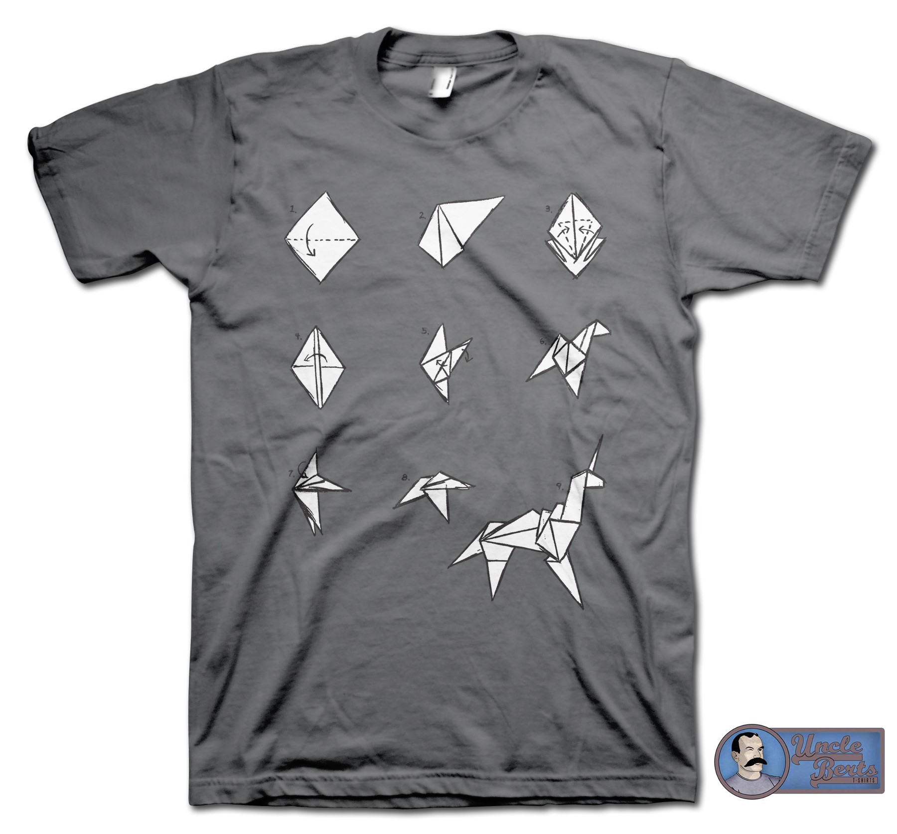 Blade Runner (1982) Inspired Origami Unicorn T-Shirt