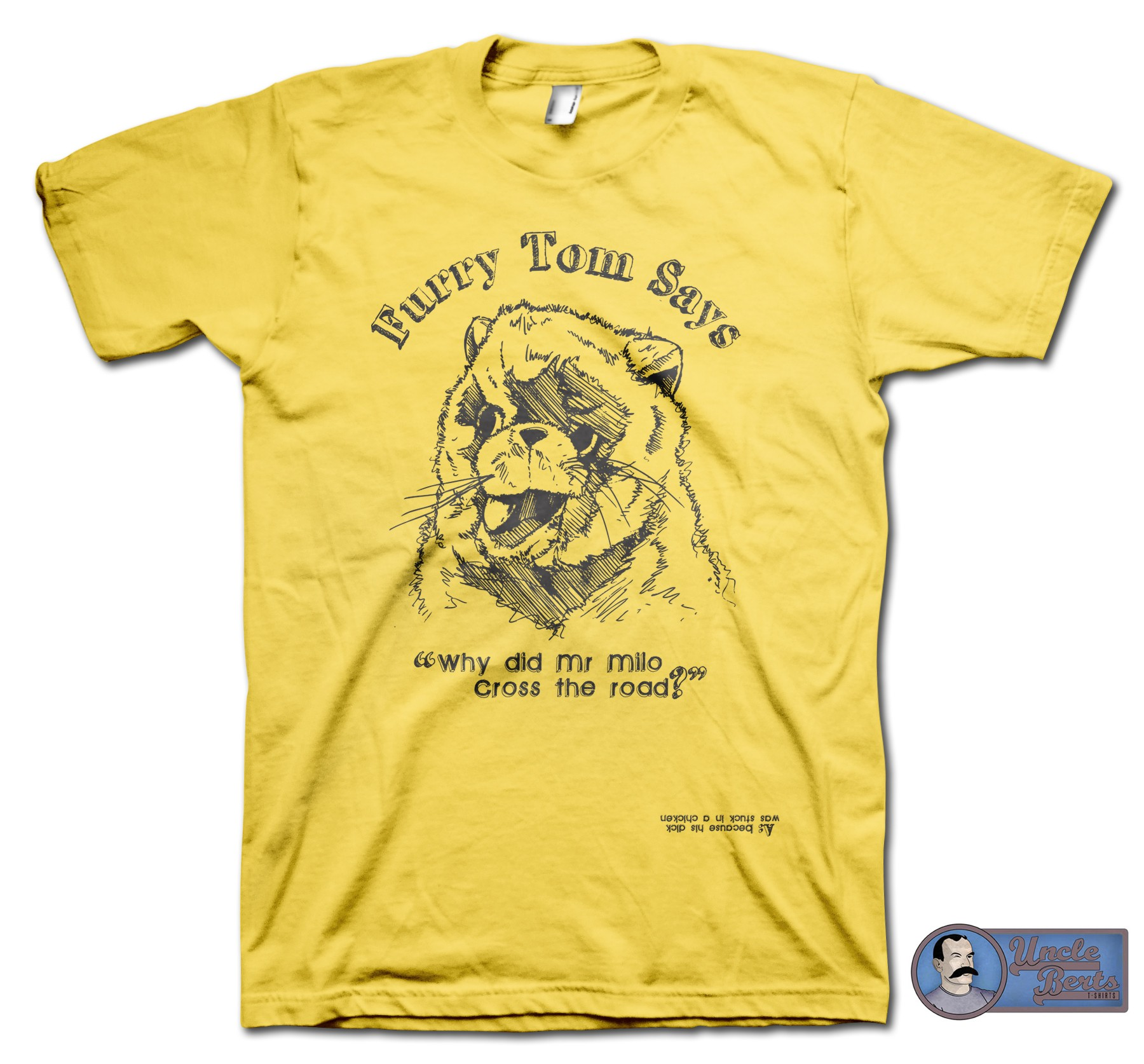 The Last Boy Scout (1991) inspired Furry Tom Says T-Shirt