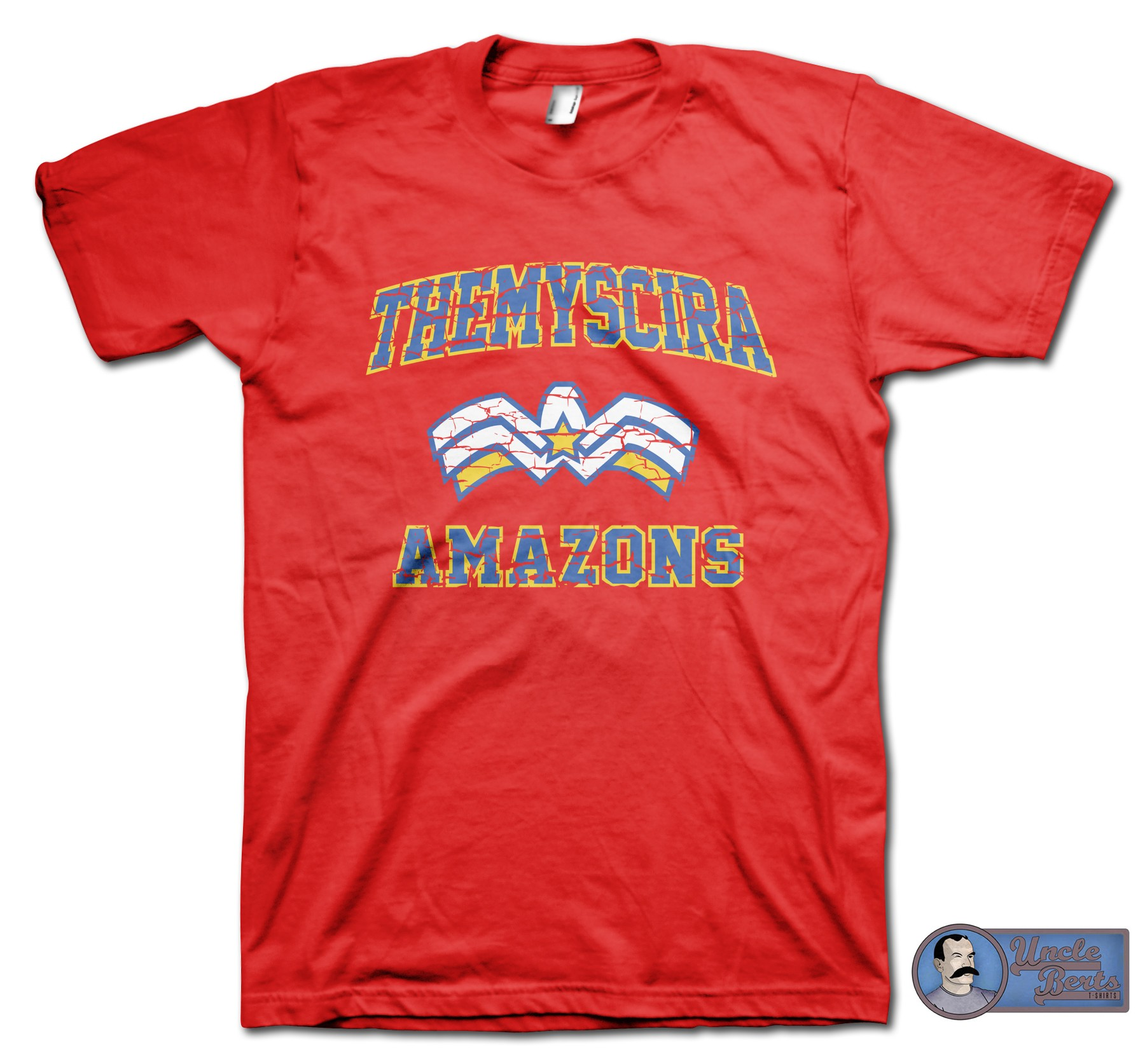 Wonder Woman inspired Theymscira Amazons T-Shirt
