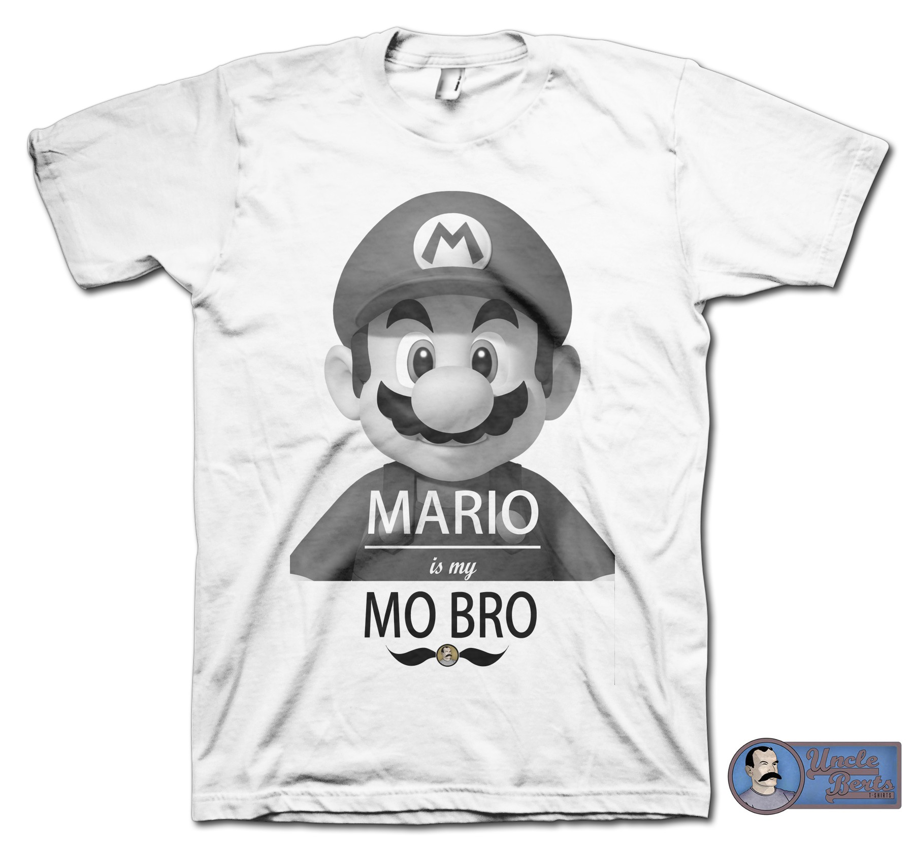 MARIO is my MO BRO T-shirt