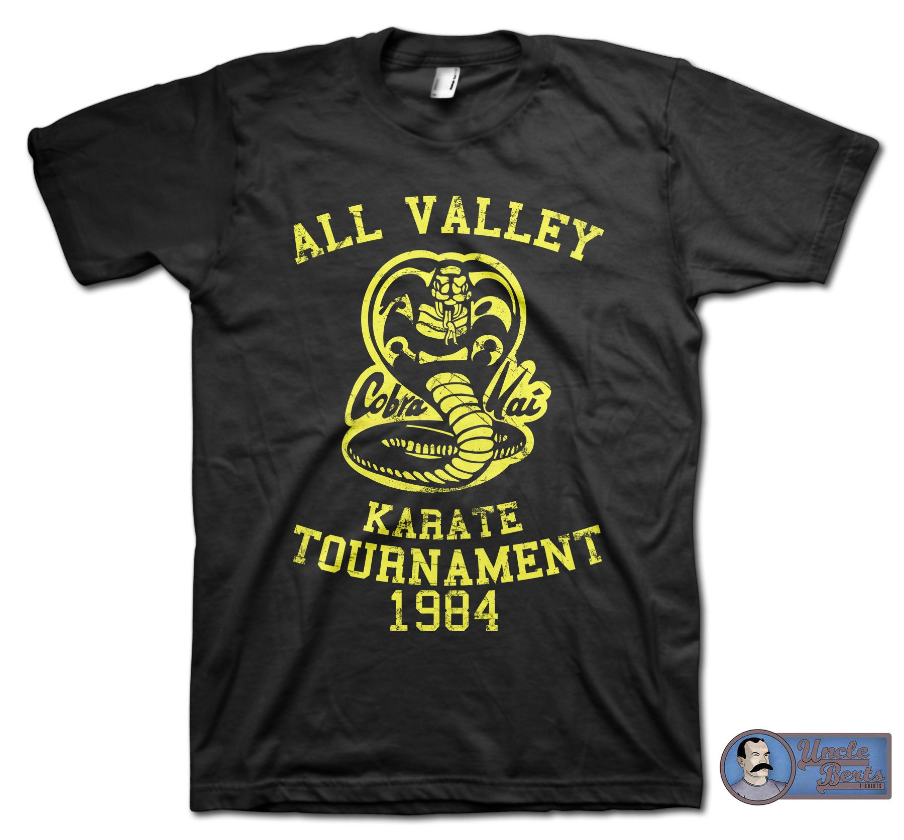 The Karate Kid (1984) Inspired Cobra Kai T-Shirt