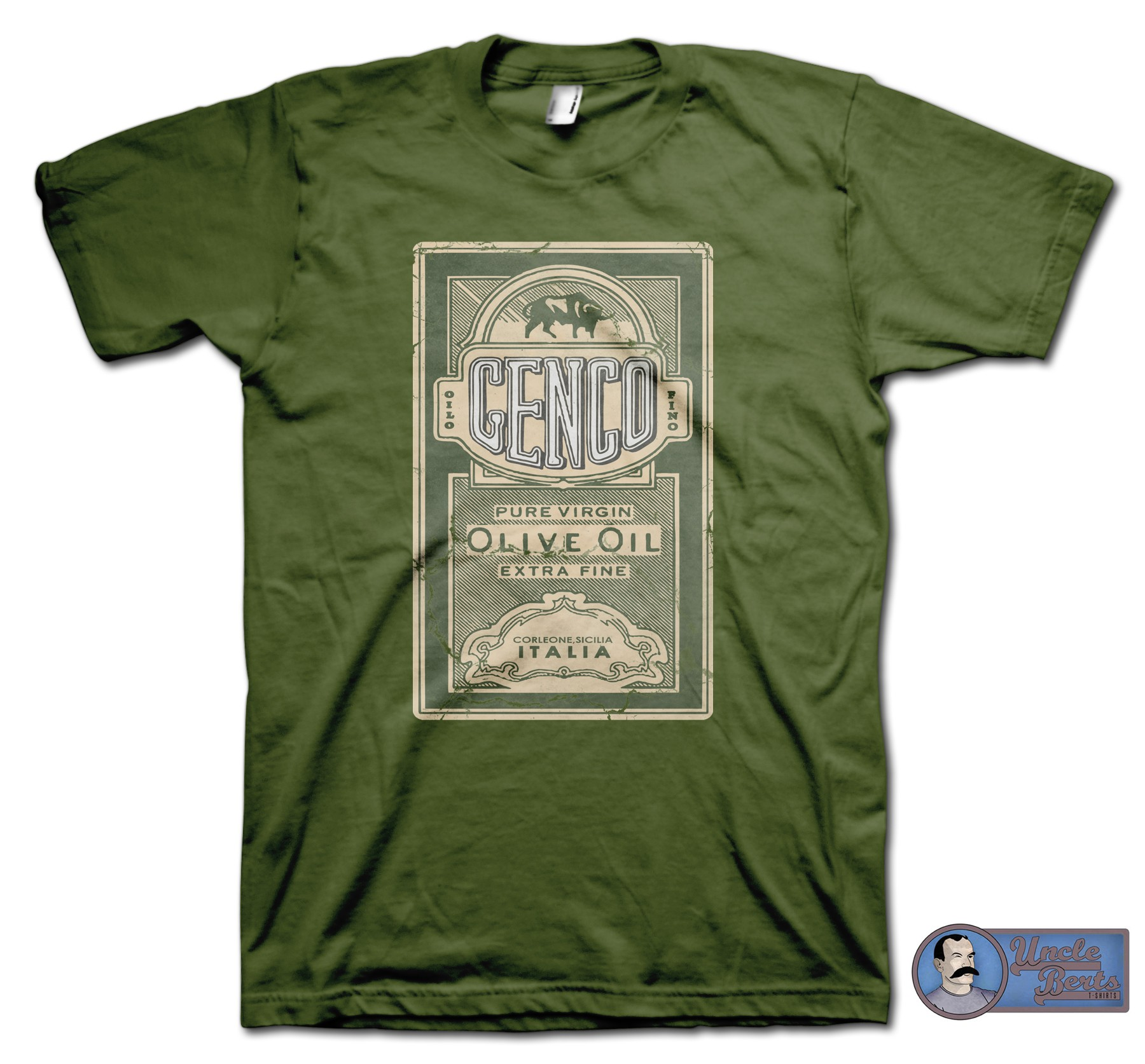 The Godfather (1972) inspired Genco Olive Oil T-Shirt