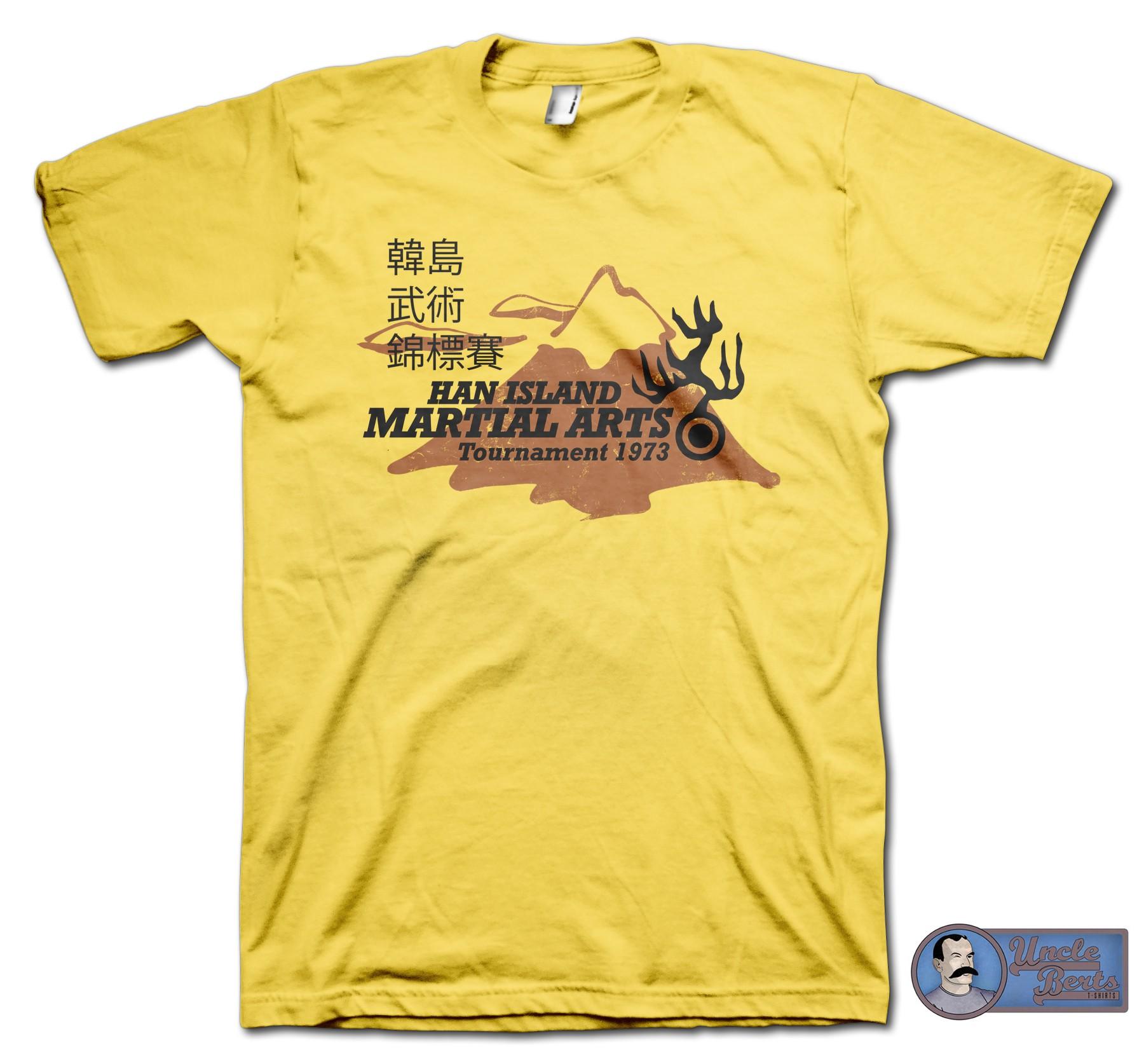 Enter The Dragon (1973) Inspired Han Island T-Shirt