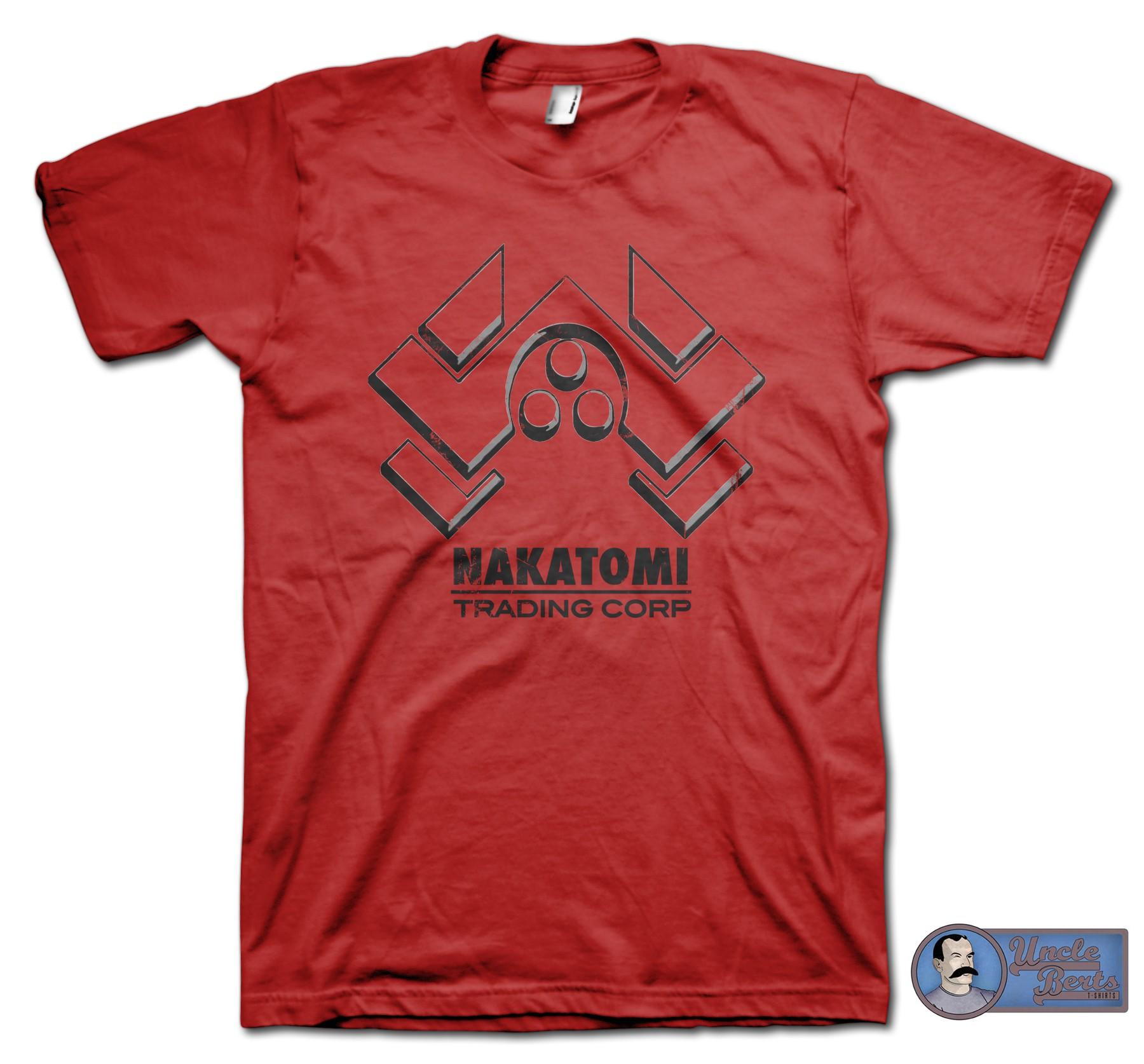 Die Hard (1988) inspired Nakatomi Trading Corp T-Shirt