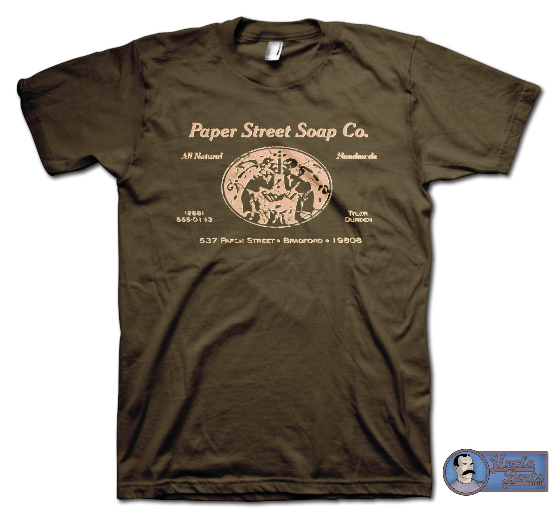 Fight Club (1999) inspired Paper Street Soup Co. T-Shirt