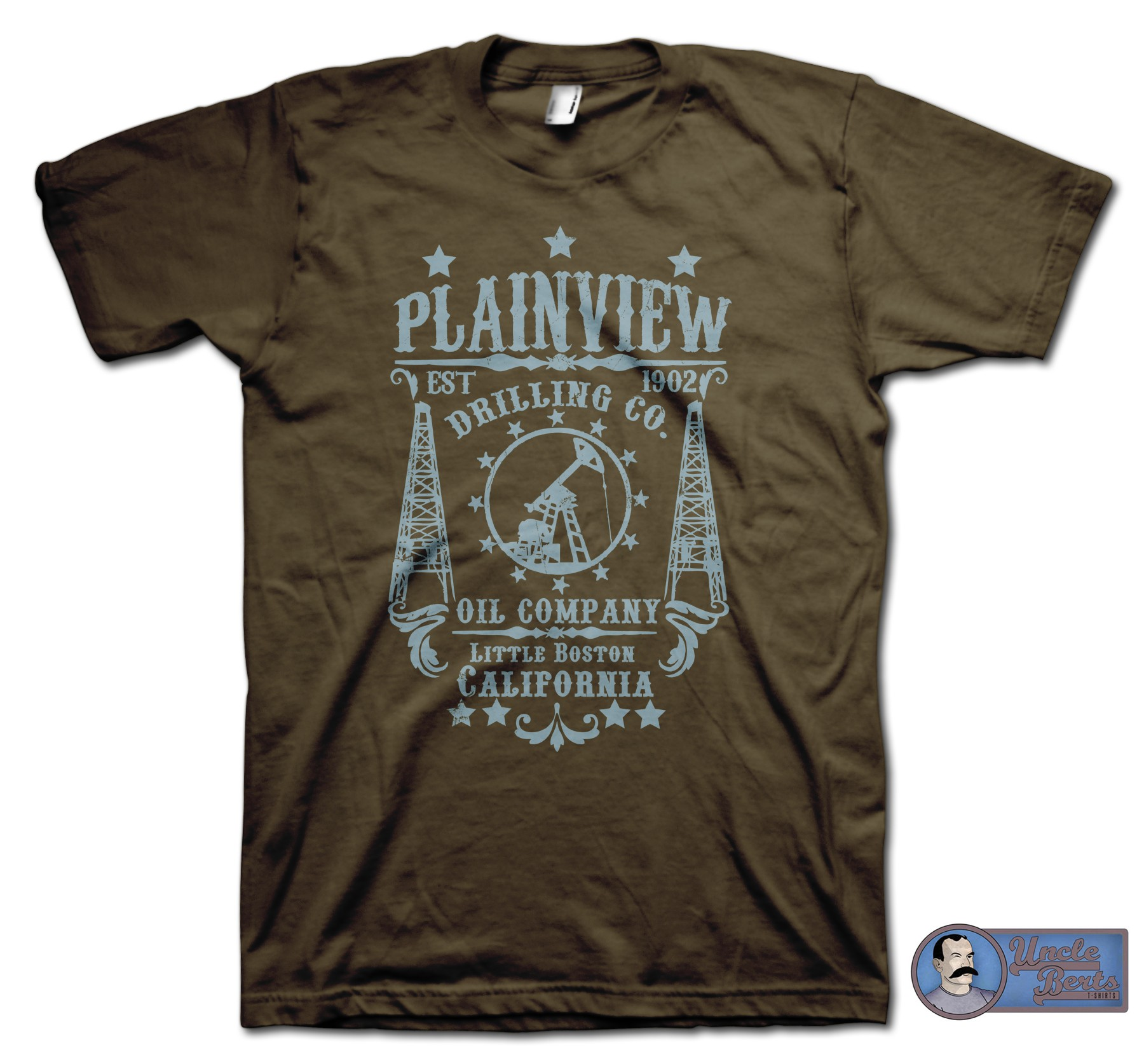 There Will Be Blood (2007) Inspired Plainview Drilling Co. T-Shirt