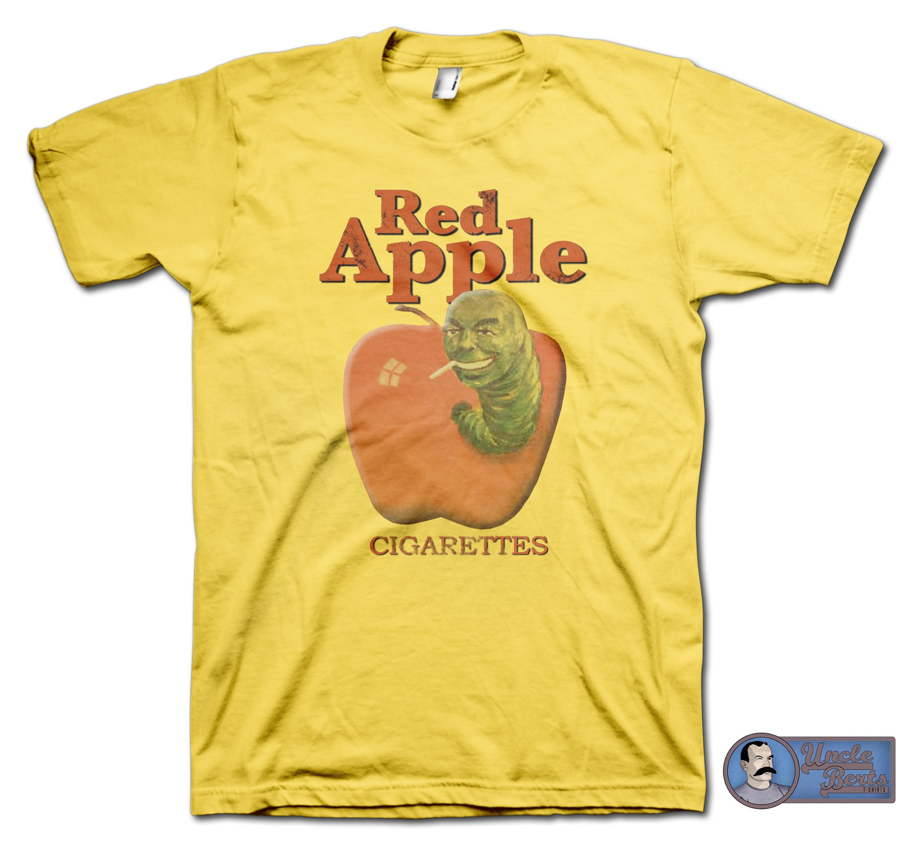 Pul Fiction (1994) inspired Red Apple Cigarettes T-Shirt