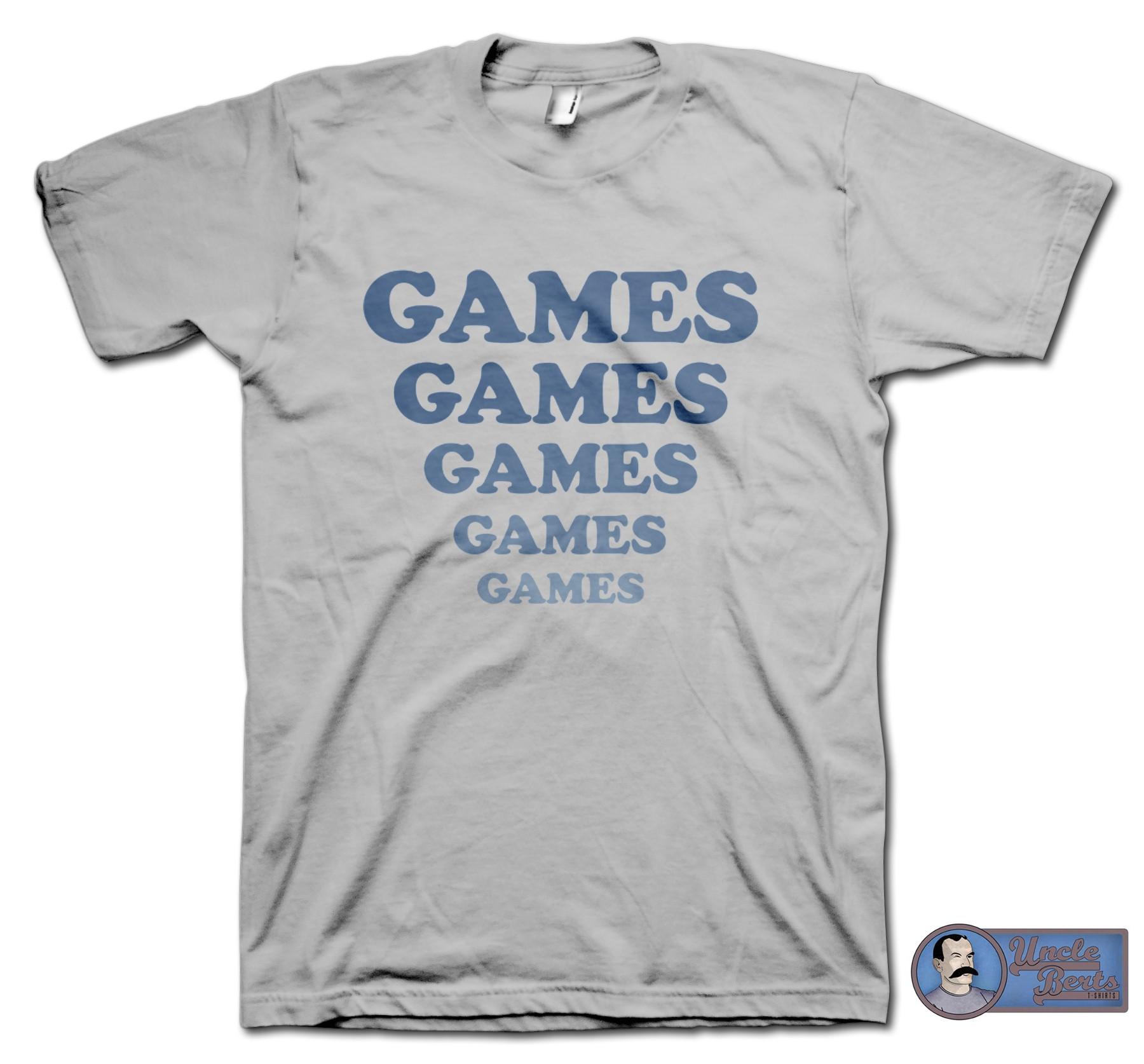 Adventureland (2009) inspired Games Games Games T-Shirt
