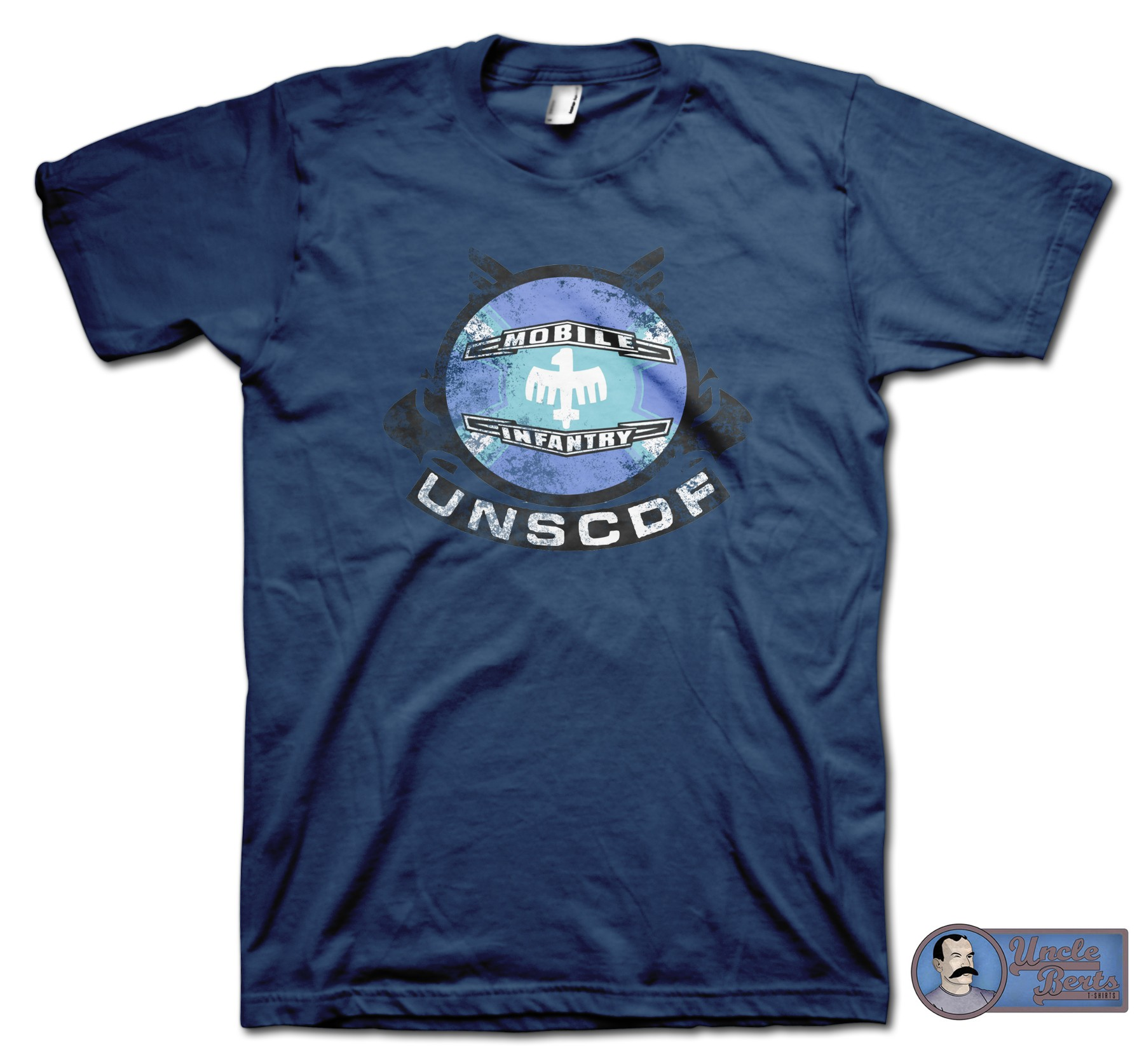 Starship Troopers (1997) inspired Mobile Infantry T-Shirt