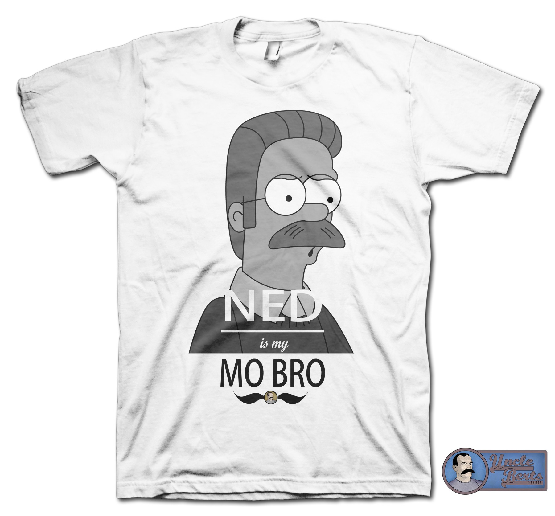 NED is my MO BRO T-shirt