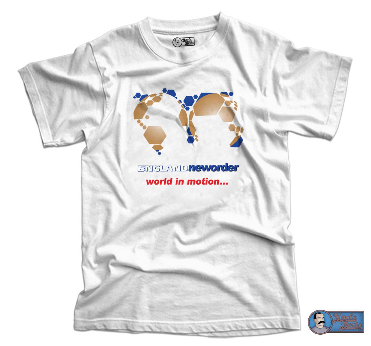 632c3f37d World in Motion England New Order T-Shirt - uncleberts.co.uk Store View