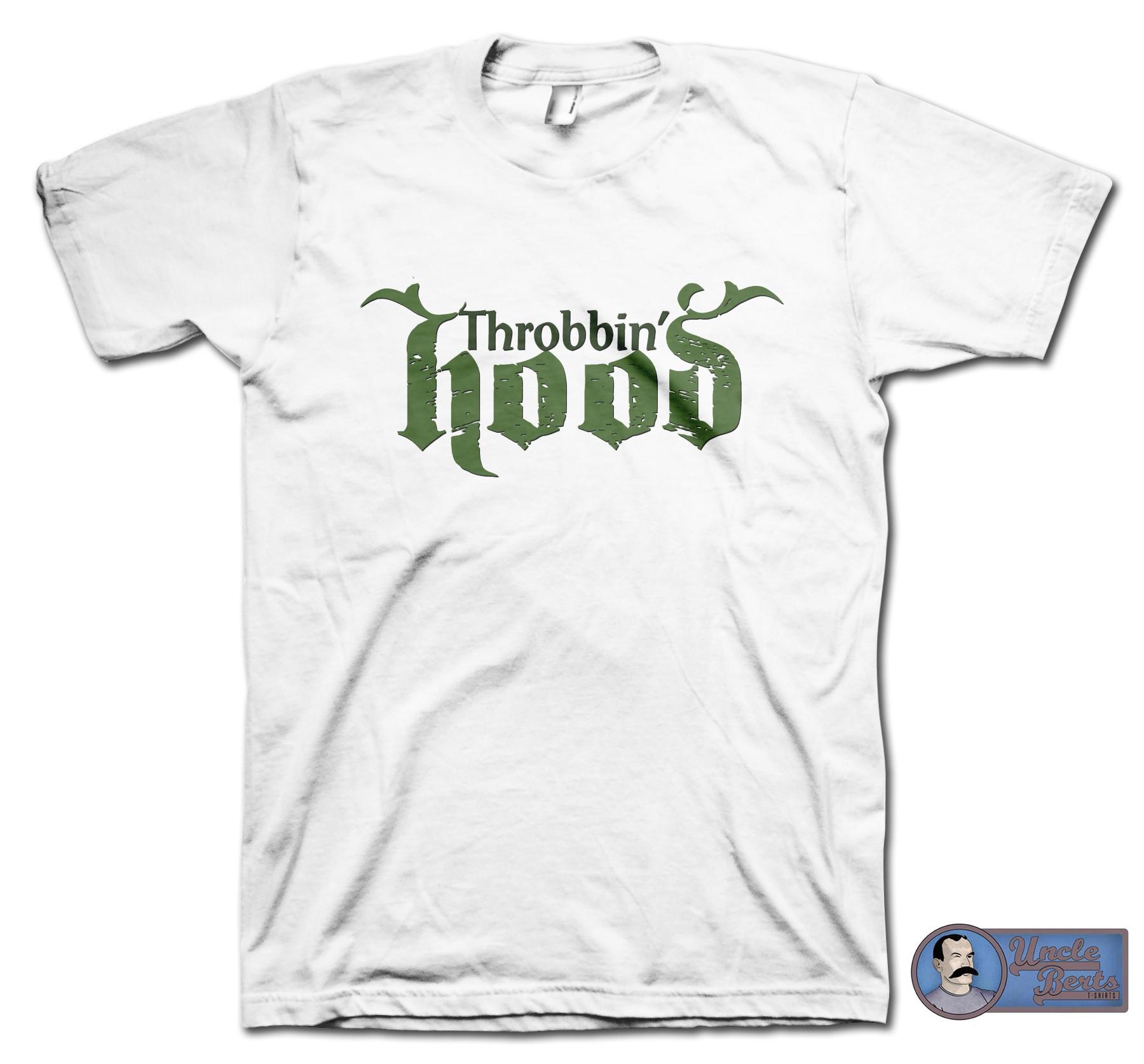 Throbbin Hood Parody T-Shirt