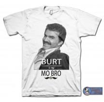 BURT is my MO BRO T-shirt