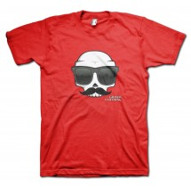 Shades Carlos Moustache T-Shirt by Grimm Clothing
