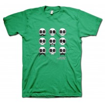 Tashes Carlos Moustache T-Shirt by Grimm Clothing