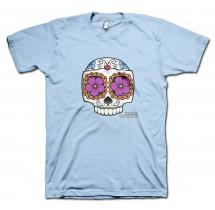 Catrina Calavera Carlos Moustache T-Shirt by Grimm Clothing