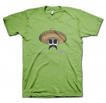 Bandito Carlos Moustache T-Shirt by Grimm Clothing