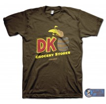 DK Grocery T-Shirt - inspired by the Duke Nukem series