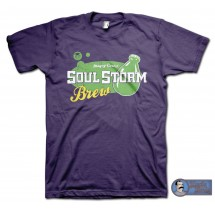 SoulStorm Brew T-Shirt - inspired by OddWorld Abe's Exoddus