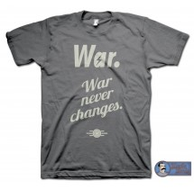 War. War Never Changes T-Shirt - inspired by the Fallout series