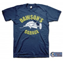 Adventures in Babysitting (1987) Inspired Dawson's Garage Team T-Shirt