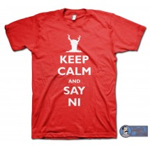 Monty Python Holy Grail (1975) inspired Keep Calm T-Shirt