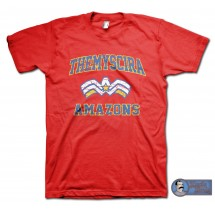 Wonder Woman inspired Theymscira Amazons T-Shirt