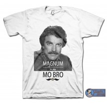 MAGNUM is my MO BRO T-shirt
