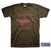 JAWS (1975) Inspired Quints Shark Hunting T-Shirt