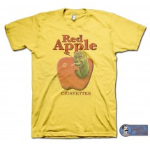 Pulp Fiction inspired Red Apple Cigarettes T-Shirt, Tarantino