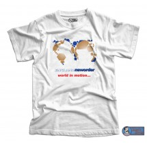 World in Motion England New Order T-Shirt